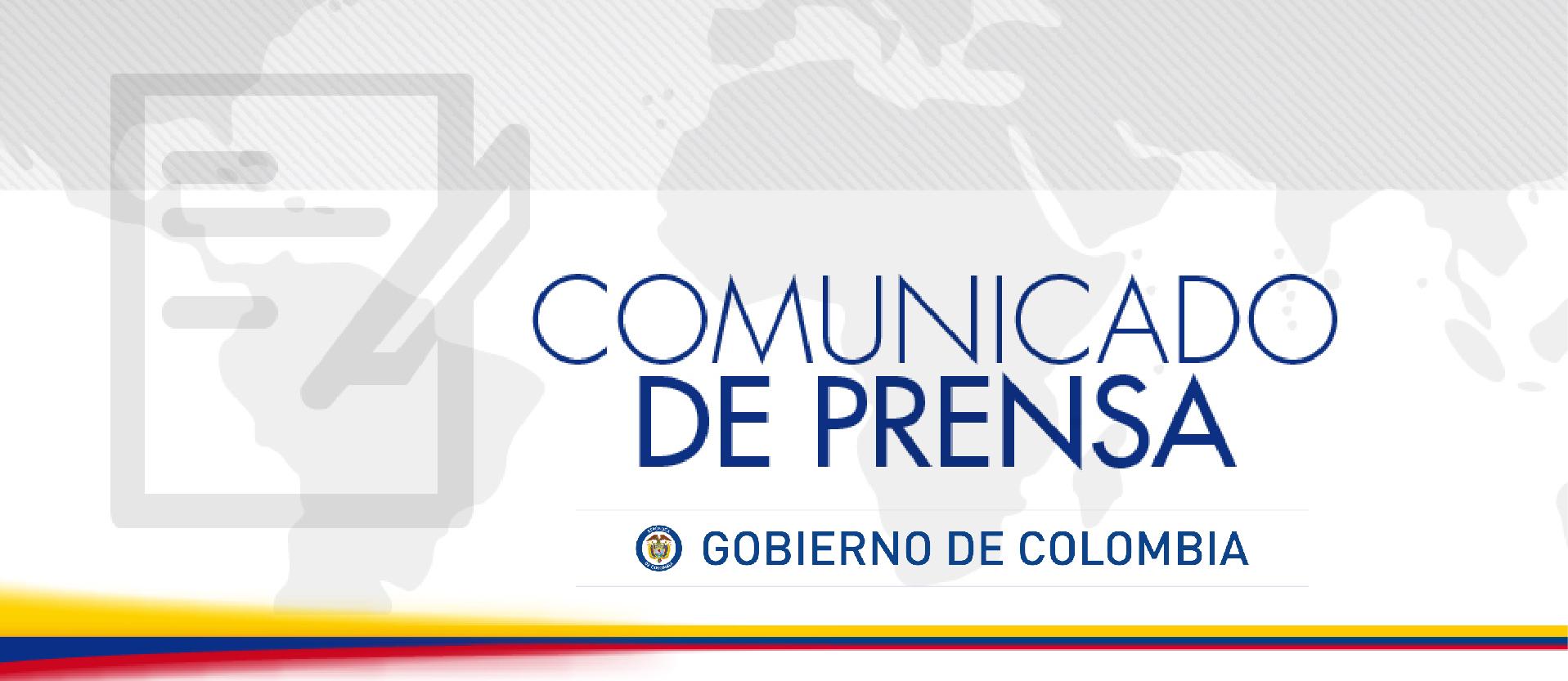 Comunicado De Prensa Del Ministerio De Relaciones Exteriores Misi N Permanente De Colombia
